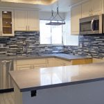 Alpine White cabinets with Silverstar Gray counertops