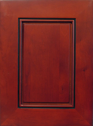 Cherry Burgundy Door