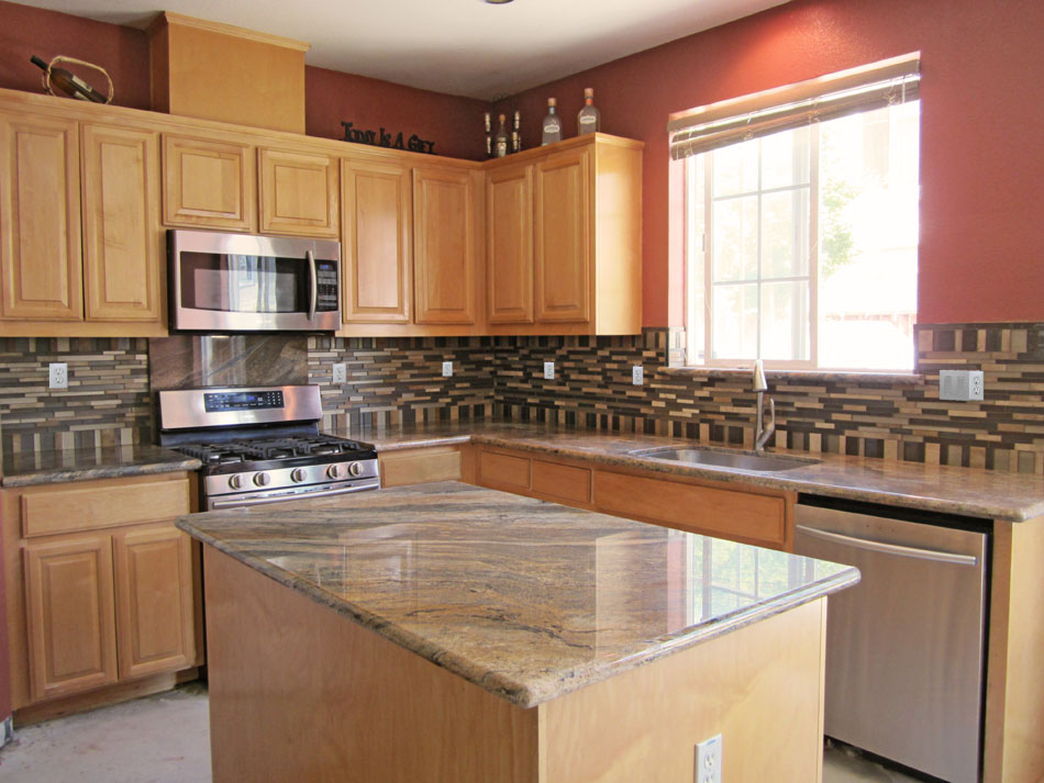 African Fantasy Granite countertops