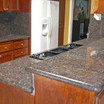 Sapphire Brown granite countertops