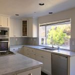 Arctic Shaker White Cabinets