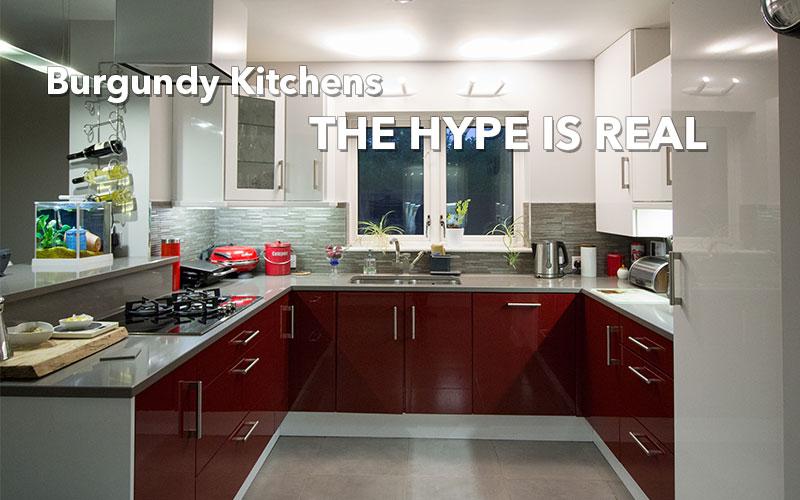 burgundy-kitchens