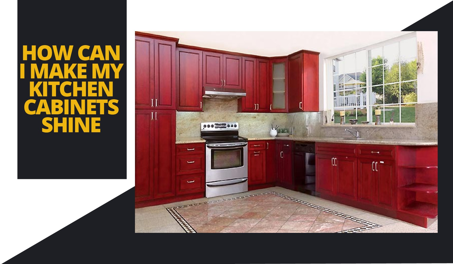 How To Make Kitchen Cabinets Shine How Can I Make My Kitchen Cabinets Shine   FGY Stone and Cabinet