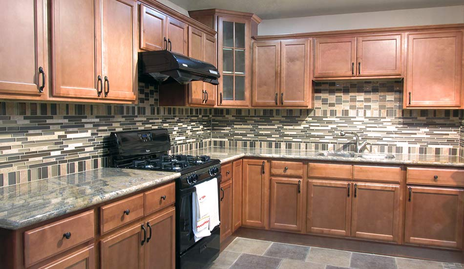 Pecan Wood Kitchen Cabinets Fgy